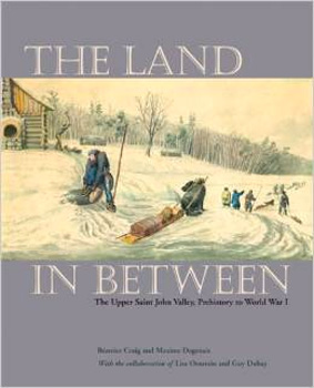 BOOK THE LAND IN BETWEEN BY CRAIG & DAGENAIS
