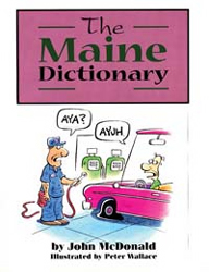 BOOK MAINE DICTIONARY PAPERBACK