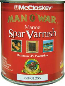VARNISH MCCLOSKEY MAN O' WAR GLOSS QUART