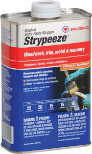 PAINT REMOVER STRYPEEZE SEMI-PASTE QUART