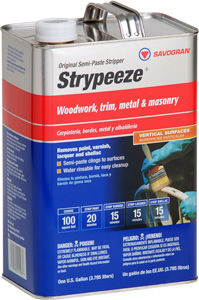 PAINT REMOVER STRYPEEZE SEMI-PASTE GALLON