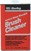 BRUSH CLEANER QUART