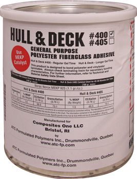 HULL & DECK PUTTY 5 GAL PAIL(USE MEKP HARDENER)