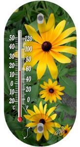 THERMOMETER FLOWER 4""