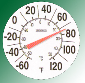 "8"" DIAL THERMOMETER"